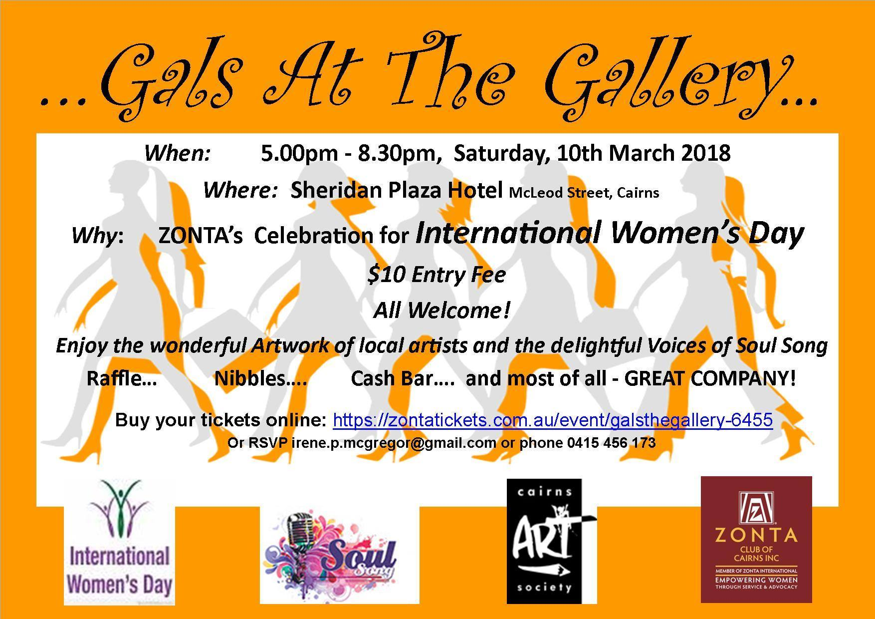 Zonta International District 22   » IWD 2018 – Gals at the