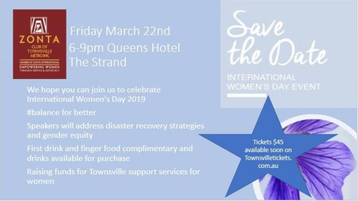 IWD 2019 - Townsville @ Queens Hotel | Townsville City | Queensland | Australia